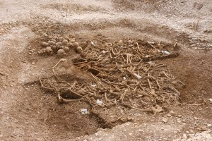 Viking Mass Grave in Oxfordshire