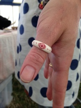 Antler Rings: Green Crafts @Glastonbury 2013